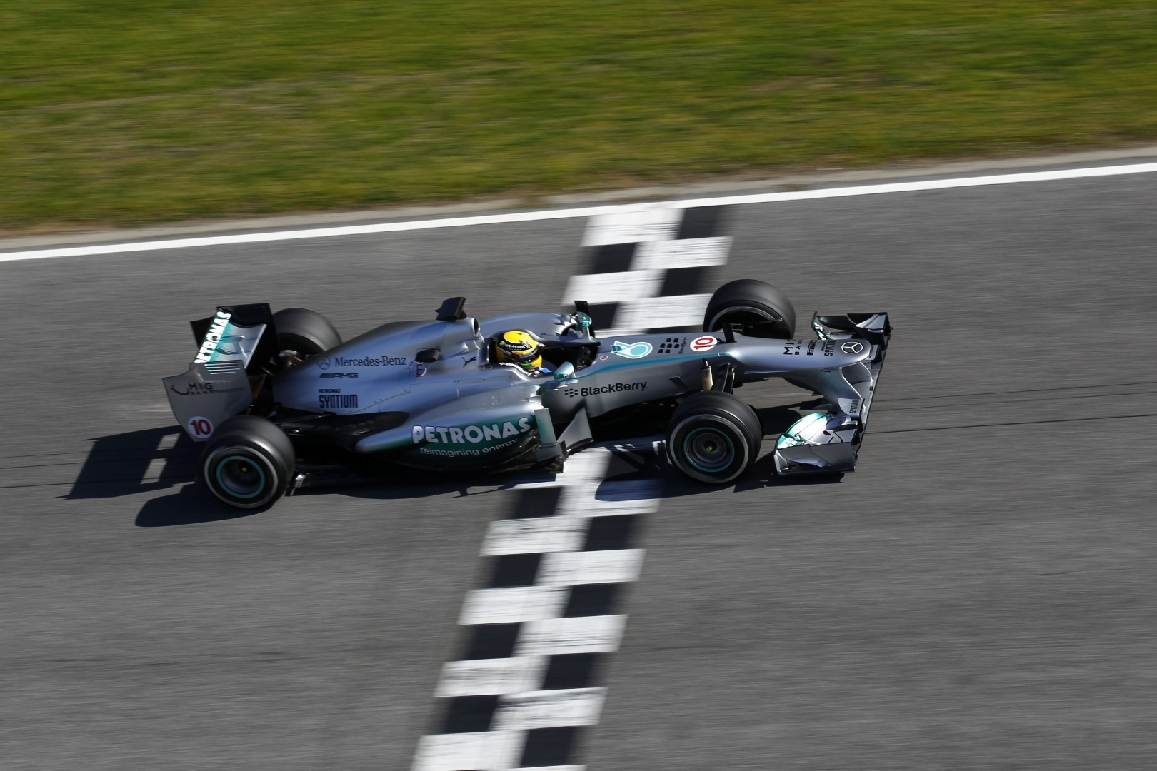 Barcelona F1 Testday 7 Hamilton Breaks Catalunya Lap Record Vettel Expects Indian Circuit To Be Secondfastest Track
