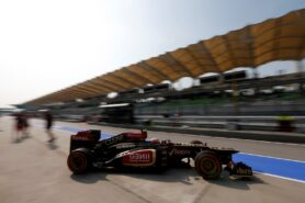 Romain Grosjean Lotus E21