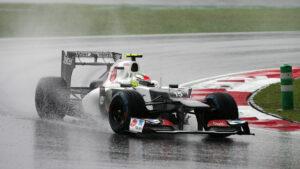 Sergio Perez Sauber C31 Malaysia 2012