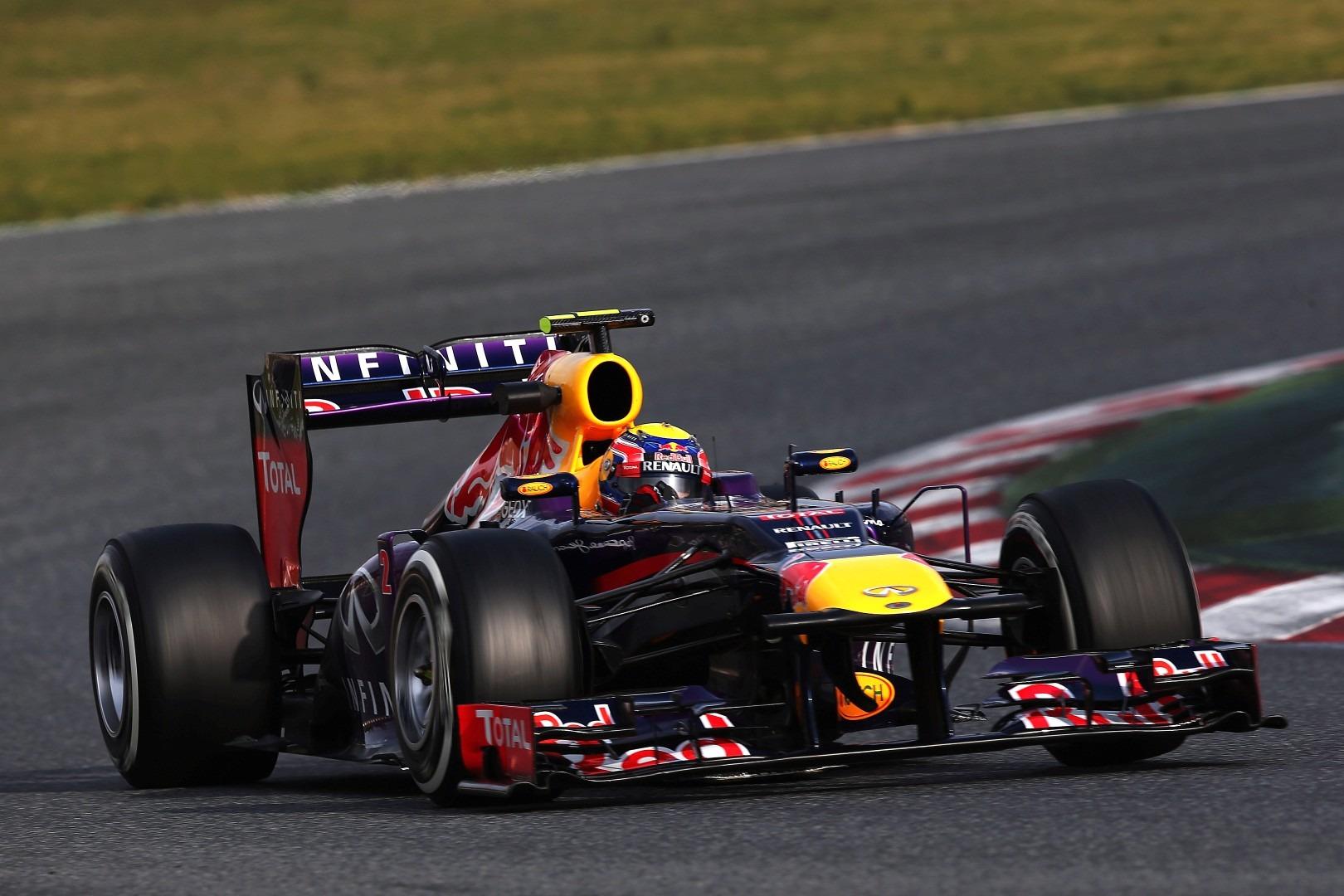Mark Webber Red Bull RB9