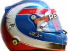2016 Jolyon Palmer helmet