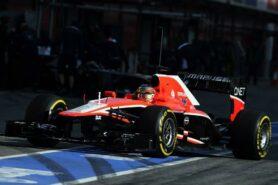 Jules Bianchi Marussia MR02