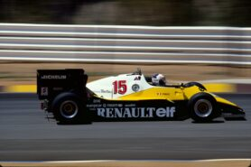 Renault RE40 driven by Alain Prost in 1983