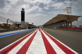 Pit and mainstraight Bahrain International Circuit