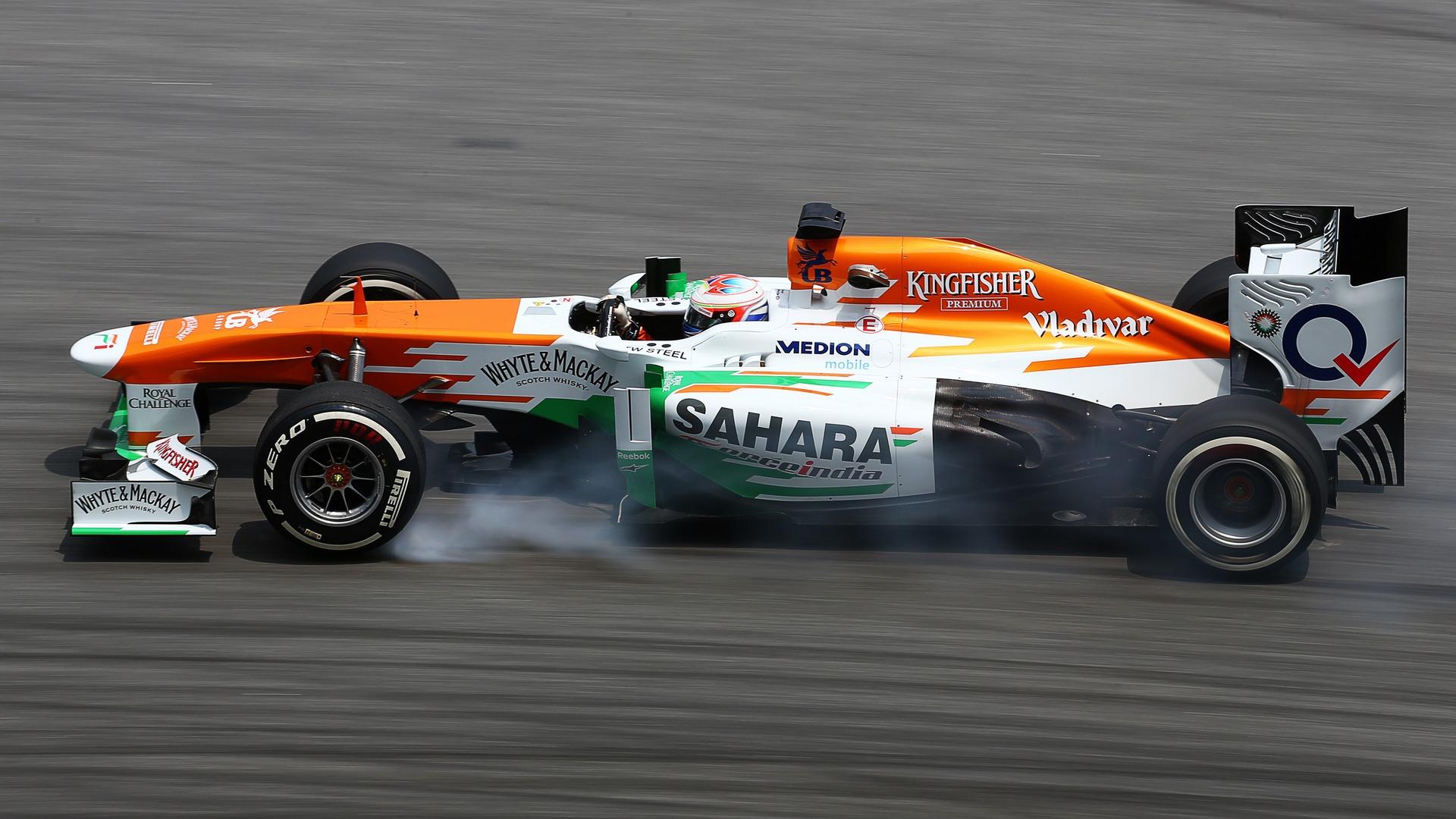 Sahara Force India F1 Background 10
