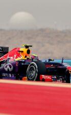 Sebastian Vettel Red Bull RB9 at Bahrain