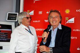 Bernie Ecclestone & Luca di Montezemolo