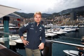 Nico Rosberg in Monaco