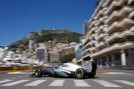 Nico Rosberg, Mercedes W04 at Monaco