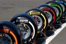 Full range of Pirelli F1 tyres