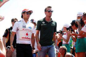 Sergio Perez & Giedo van der Garde
