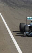 Lewis Hamilton first win for Mercedes