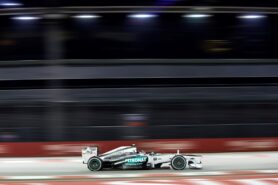 Lewis Hamilton for Mercedes
