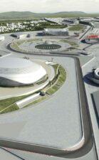 Sochi F1 circuit animated picture