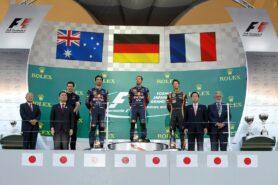2013 Japanese Grand Prix podium
