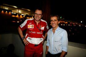 Stefano Domenicali & Alain Prost