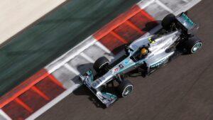 Lewis Hamilton, Mercedes W04 (2013)