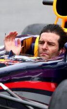 Mark Webber without helmet