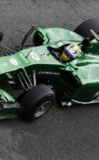 Caterham CT05 tested on Jerez
