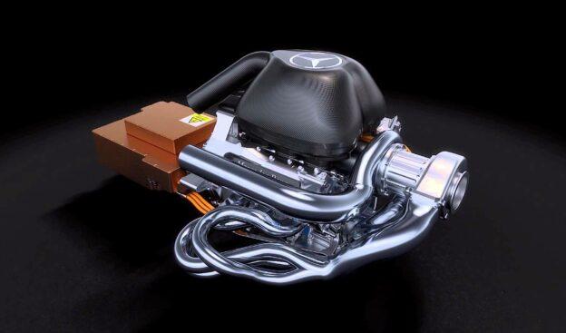 Mercedes V6 Tubo engine power unit