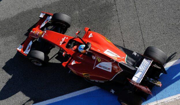 Fernando Alonso Ferrari F14 T