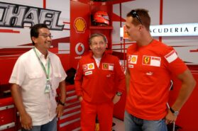 Todt says he visits Michael Schumacher twice a month