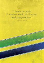 Senna F1 poster