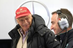 Ecclestone: Lauda aims for Abu Dhabi comeback