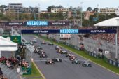 Start of the 2014 Australian F1 GP