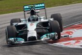 Lap times 3rd practice 2014 Malaysian F1 Grand Prix