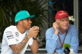 Lewis Hamilton & Niki Lauda