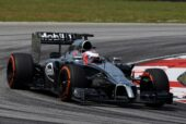 Jenson Button - McLaren MP4-29 Mercedes (2014)