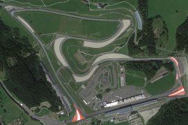 Austrian F1 Grand Prix circuit