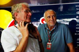 In the pit lane - Mr Mateschitz will decide