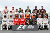 All F1 drivers that started the 2014 F1 season