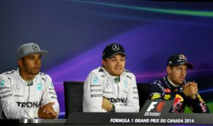 Top 3 qualifyers: 1. Rosberg 2. Hamilton 3. Vettel