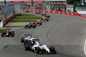 Williams going strong in Canada