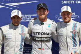 "Top 3 2014 German GP qualifiers""1. Rosberg 2. Bottas 3. Massa"