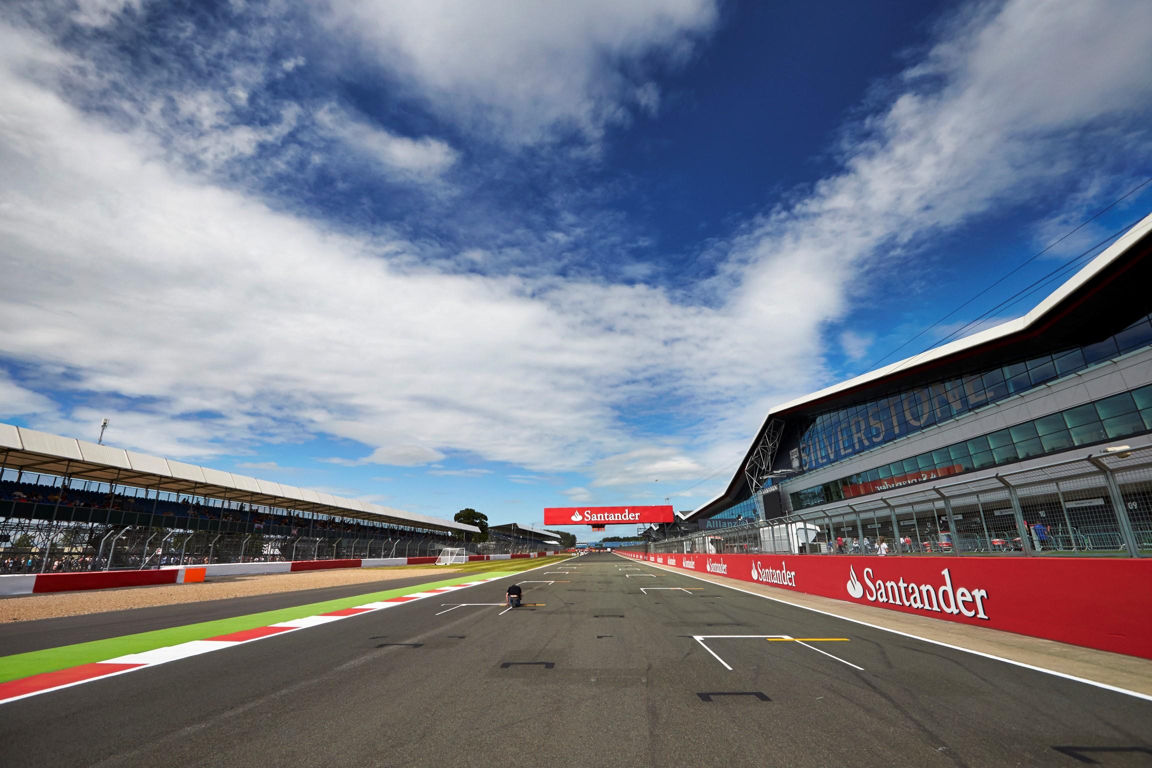 Starting Grid 2018 British F1 GP