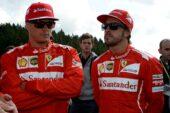 Kimi Raikkonen & Fernando Alonso