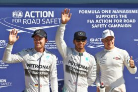 Qualifying Results 2014 Italian F1 Grand Prix