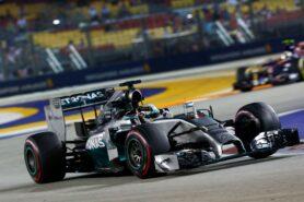 Lewis Hamilton, Mercedes W05 at Singapore