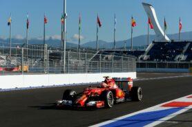 Kimi Raikkonen, Ferrari F14T Sochi circuit