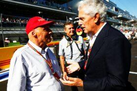 Niki Lauda and Marco Tronchetti Provera