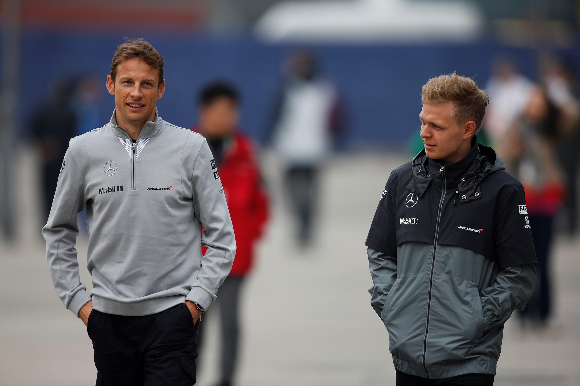 Magnussen: Grosjean faster than Jenson Button