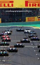Start of 2014 Brazilian F1 GP