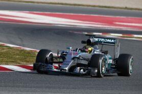 Lewis Hamilton - Mercedes W06