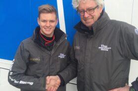 Mick Schumacher and Frits van Amersfoort