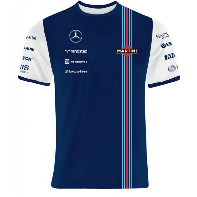 Massa Williams Martini F1 shirt