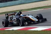 Sergio Perez, Force India VJM08, 2015 Chinese Grand Prix